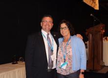 Chris Moews and Ann Golombowski
